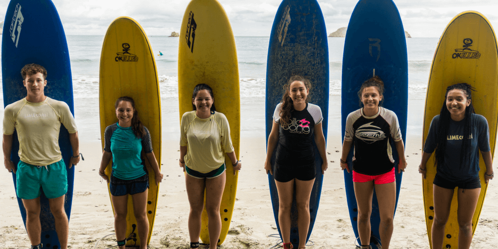 GVI has spring break programs in Mexico and Costa Rica specifically catered to high school students.