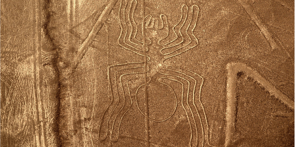 Nazca lines in Cusco Peru