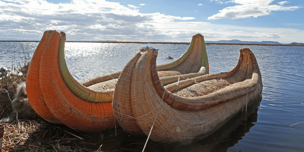 see the floating islands lake titicaca