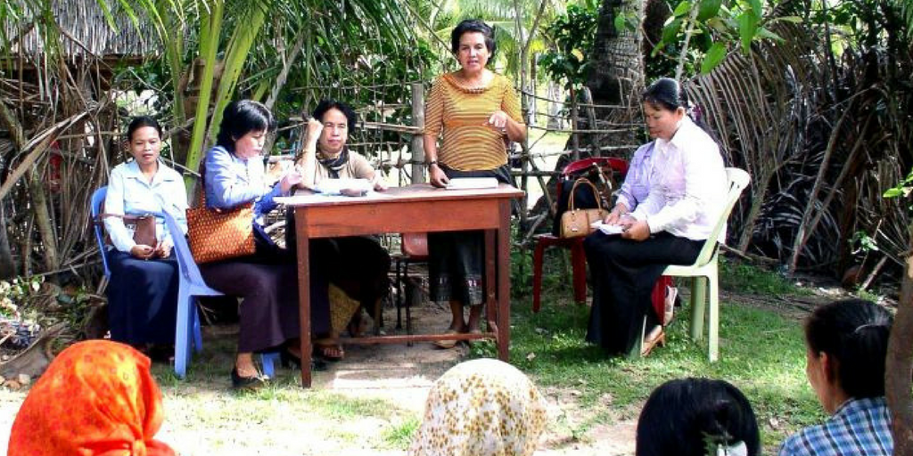 Promote Gender Equality In Cambodia