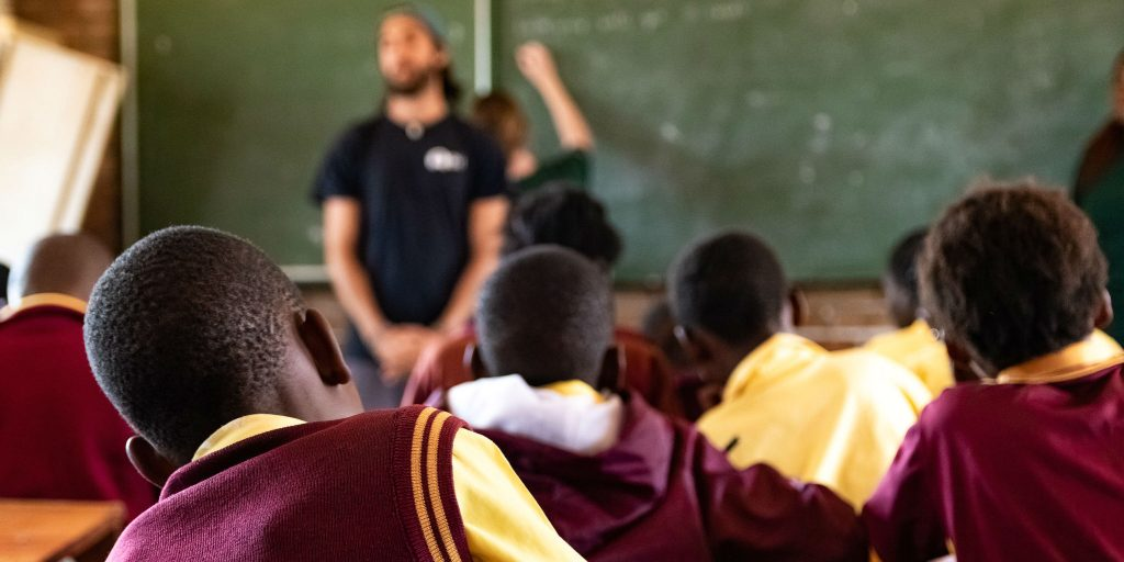 Becoming a volunteer teacher is a great way to make an impact and build up empathy