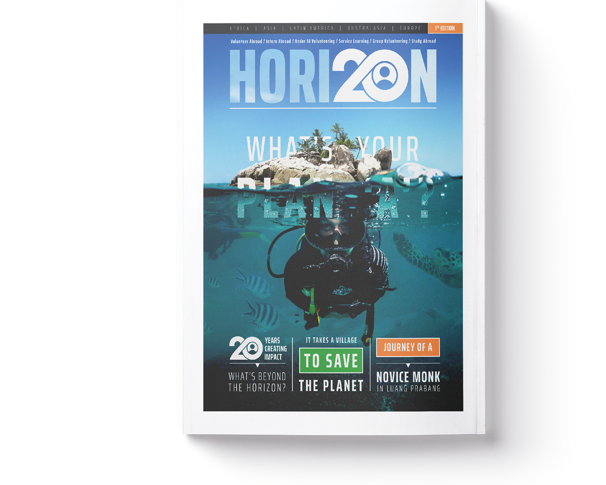 Horizon Magazine Thumbnail Cover
