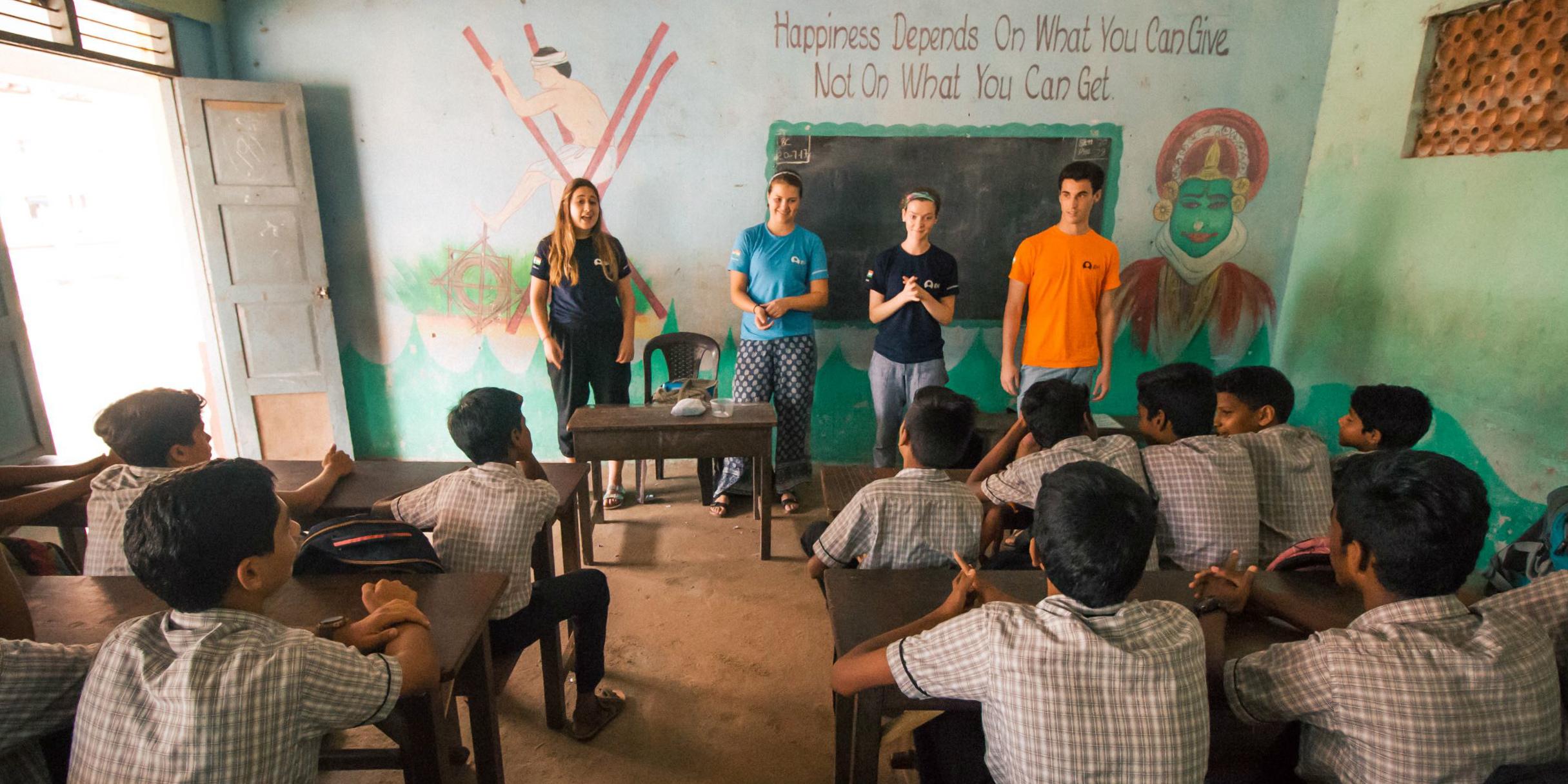 teaching English abroad programs