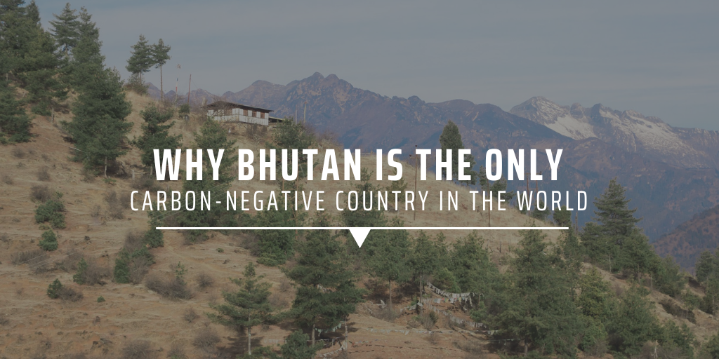 Why Bhutan is the only carbon-negative country in the world