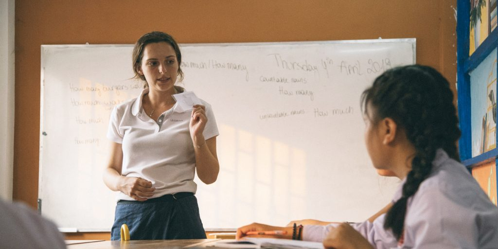 Your fellow volunteers in Laos will make it easier to join in on language and culture activities