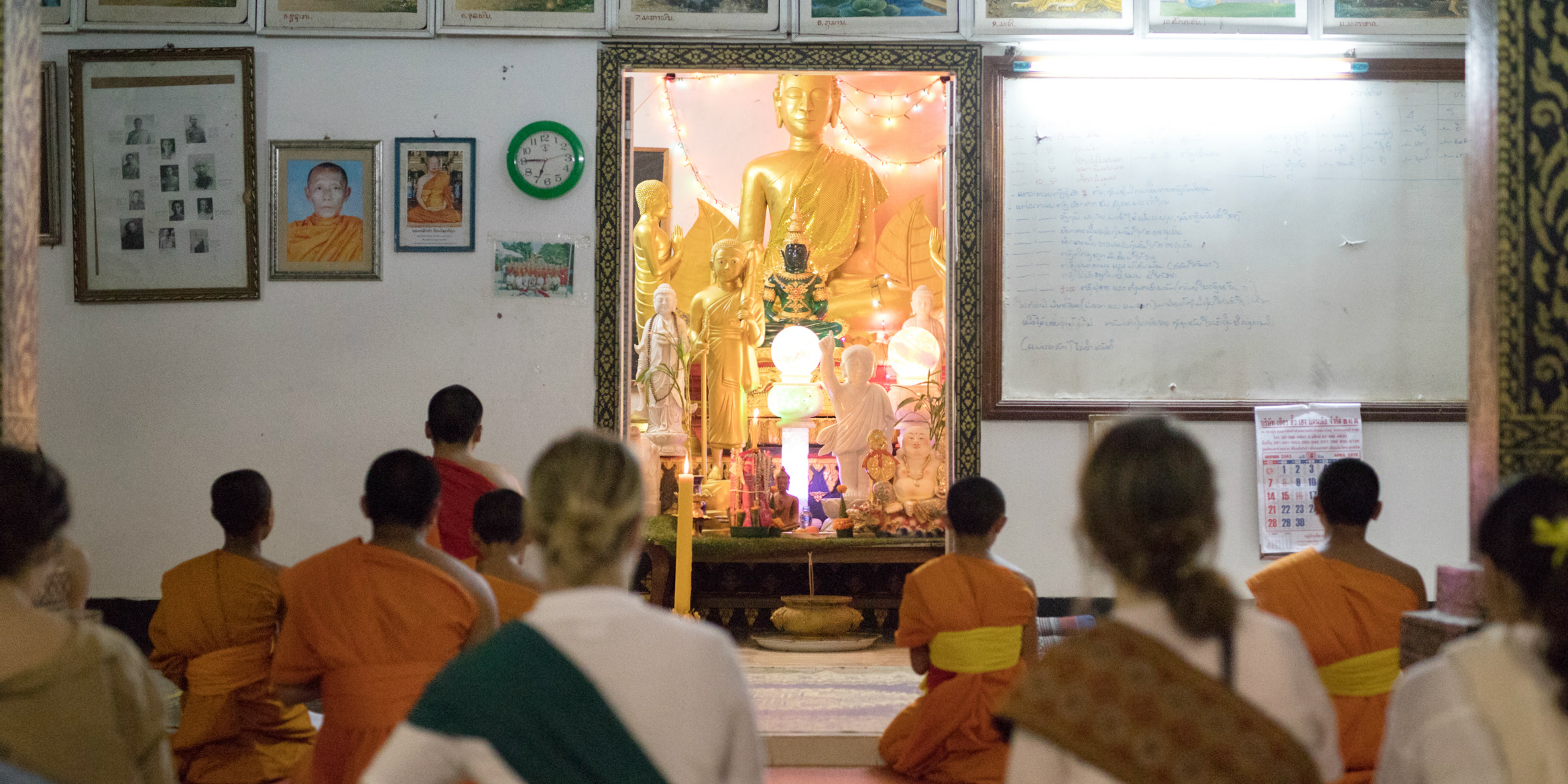 GVI interns learn about Laos culture while teaching abroad | donate or volunteer