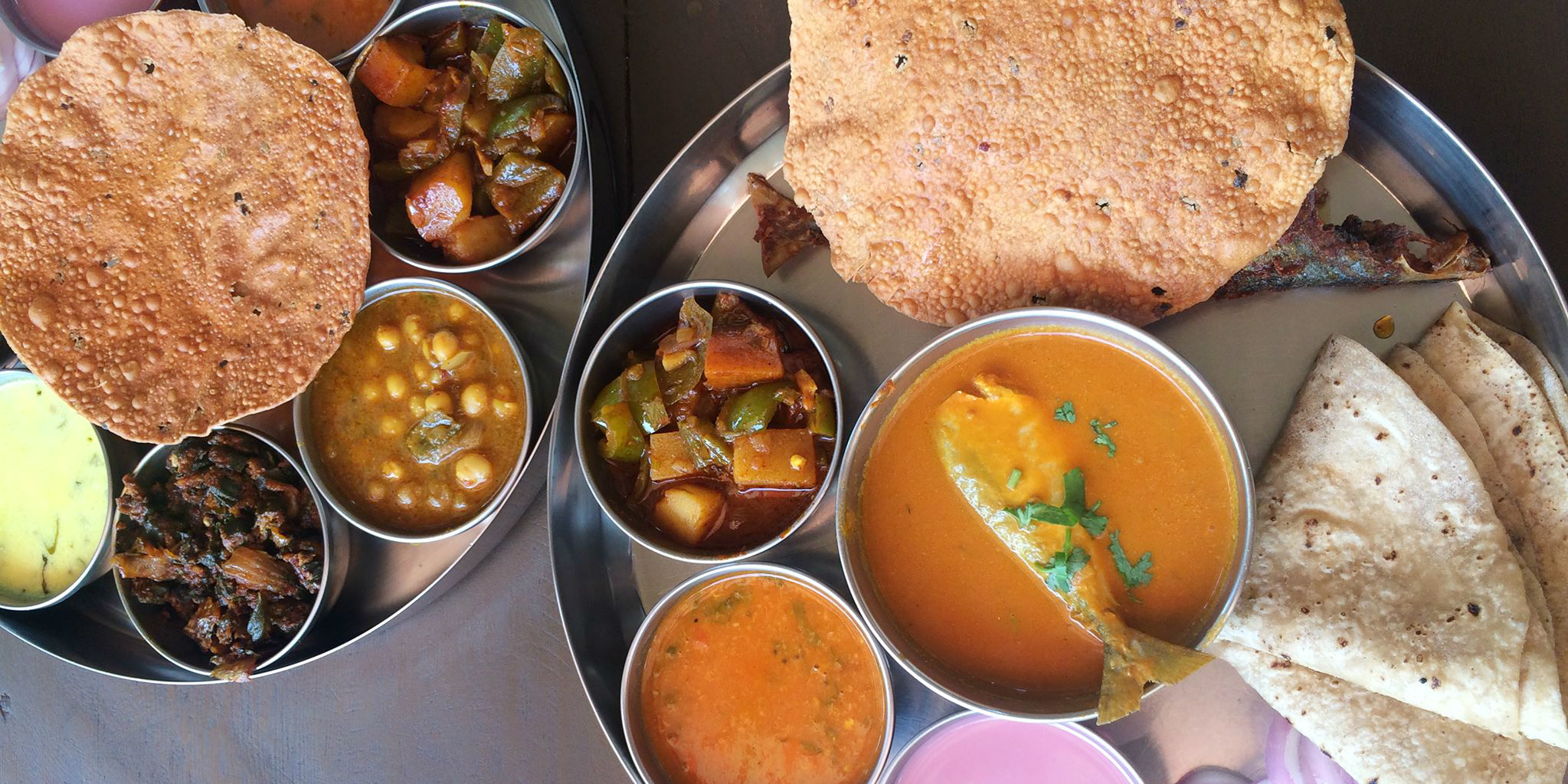 Travel to India and you'll be able to sample local cuisine.