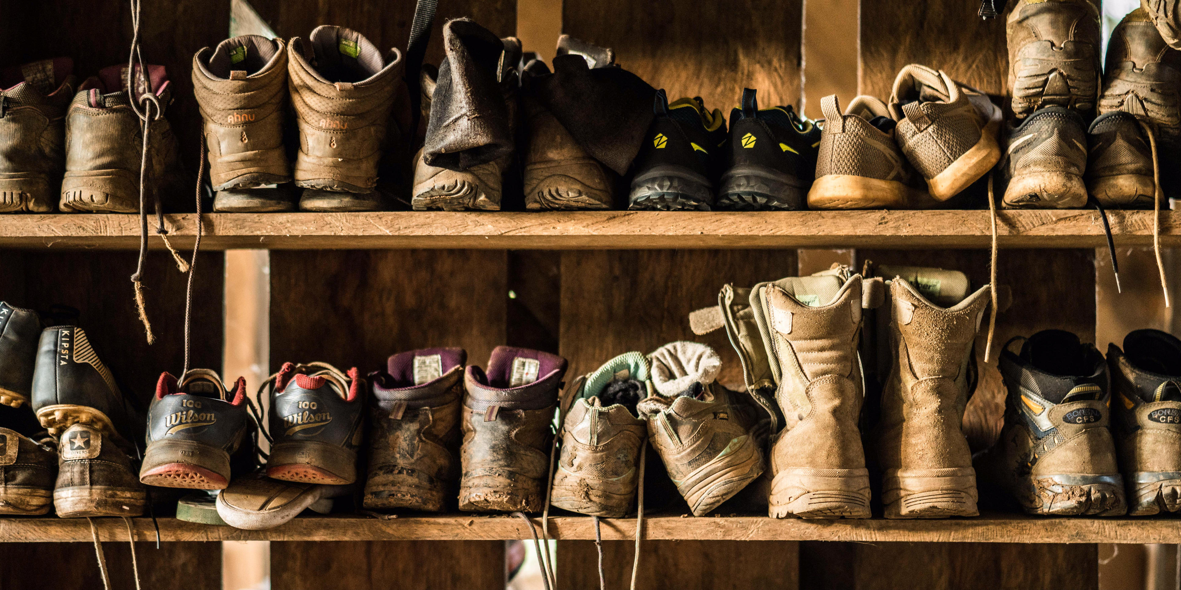 Travels looking to practise eco-friendly tourism should clean dirt off of their boots, to prevent cross contamination.