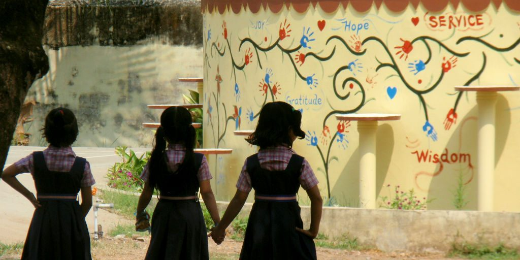 GVI projects also focus on education for young girls.