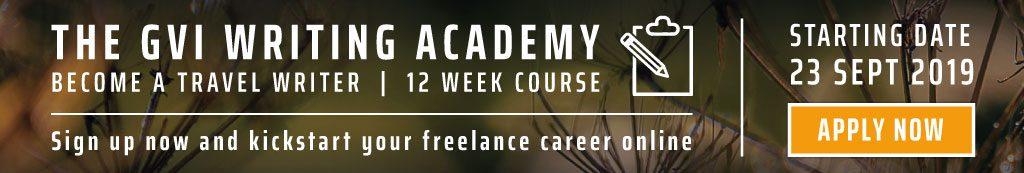 GVI Writing Academy - kickstart your freelance career online