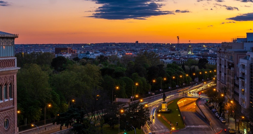 Madrid, Spain is one of the top green cities in the world.