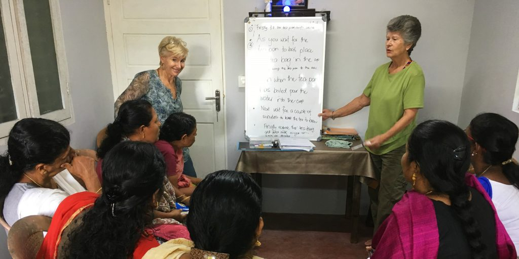 Volunteers and the benefits of leadership training