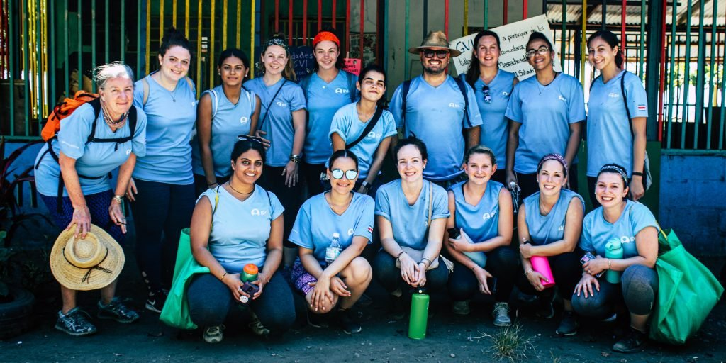 Making friends is part of volunteer opportunities in Costa Rica