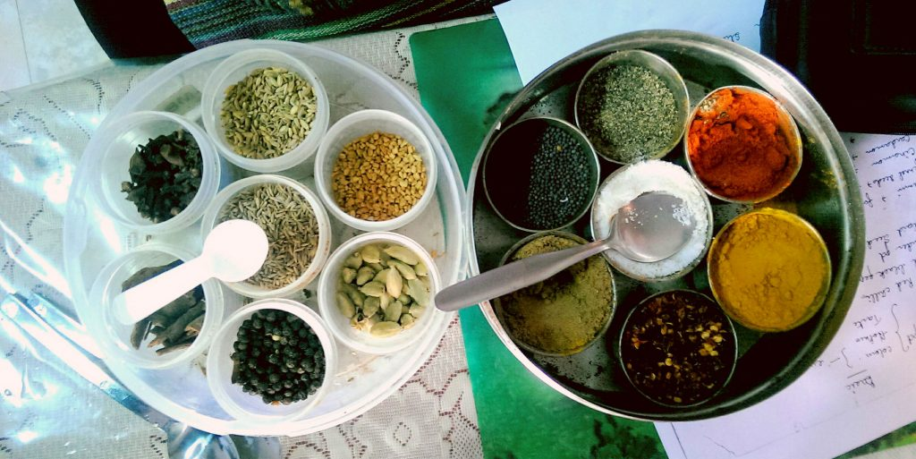 Volunteer opportunities in India include local cuisine.