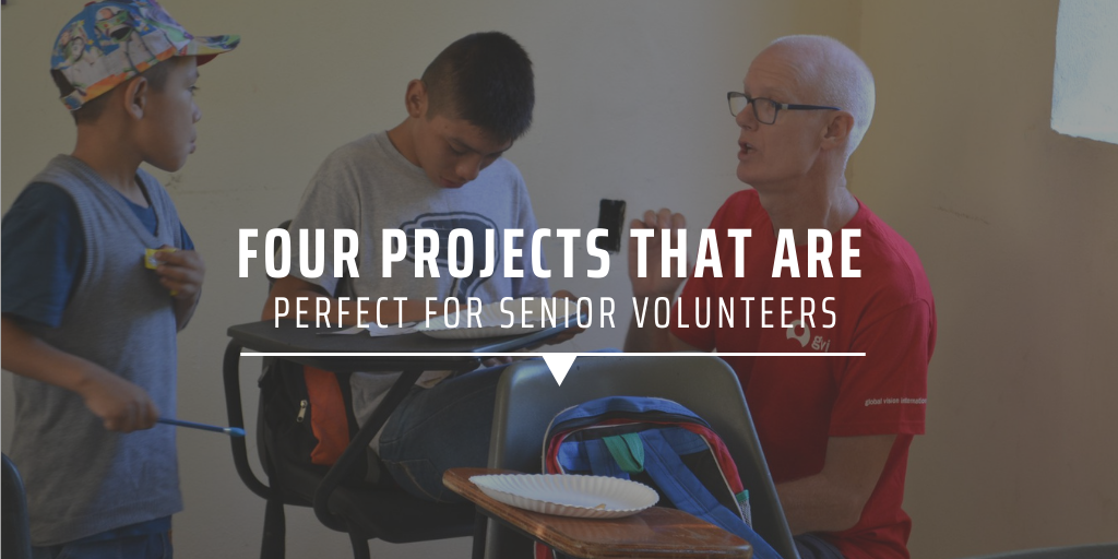 Four projects that are perfect for senior volunteers