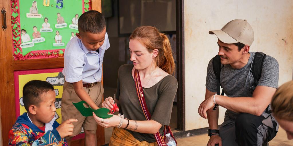 Doing volunteer work shows your willingness to work hard.