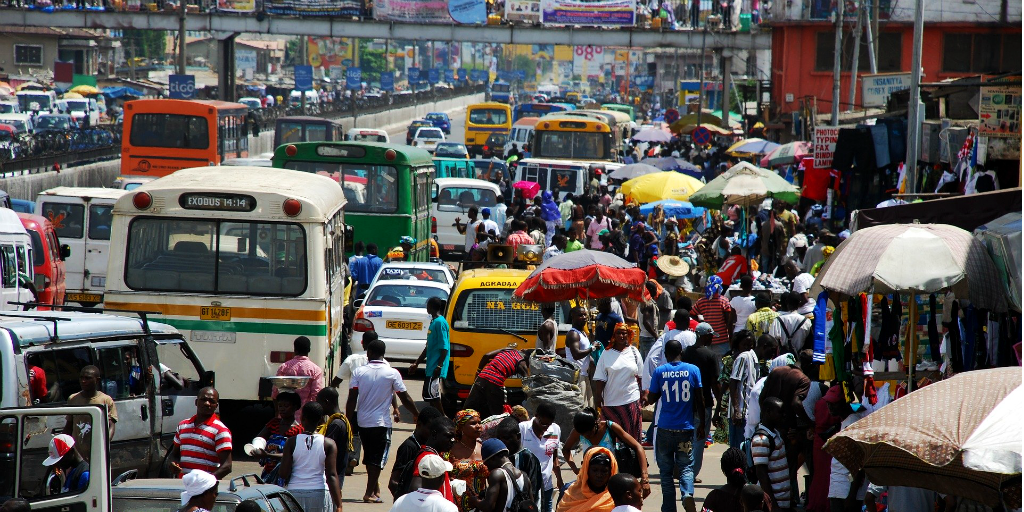 Ghana's economy grew because of good governance and sustainable development.