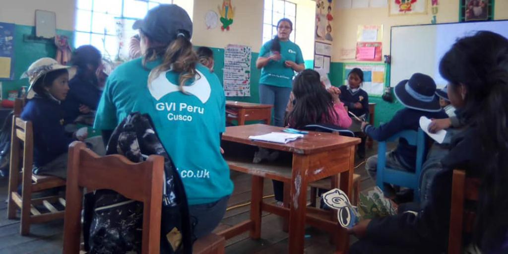 Volunteers in Cusco - one of the best places to visit in Peru