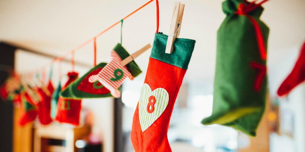 Level up your eco friendly christmas with a DIY advent calendar
